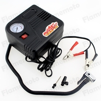12V Car Motorcycle Motor Bike Compact Mini Tyre Air Compressor Inflator Pump Free Shipping