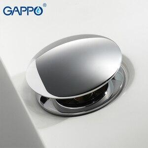 Image 2 - GAPPO дренажные фильтры для раковины, дренаж для раковины, ванная комната, Душ, сливной фильтр, всплывающее покрытие для раковины, пробка для слива