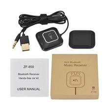 Автомобиль Bluetooth музыкальный приемник передатчик Bluetooth автомобильный адаптер громкой связи car kit Aux кабель USB Bluetooth Динамик с NFC