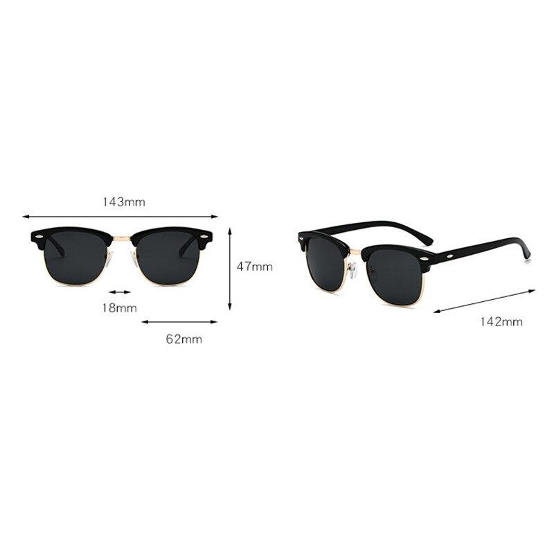 2019 Diopter Finished Myopia Polarized Sunglasses Men Women Nearsighted Glasses Fashion square men's driving goggles UV400 FML 6
