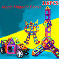 118 pcs magnético blocos de construção de brinquedo modelo de diy engligten designer 3d construção magnética set para as crianças