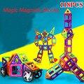 118 unids engligten diseñador magnética bloques de construcción magnética diy juguete modelo 3d de construcción de conjunto para los niños