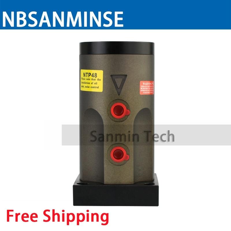 Free Shipping Big Power Pneumatic Air Vibrator NTP48 Aluminium Alloy NTP Series Reciprocating Type High Quality NBSANMINSE цена