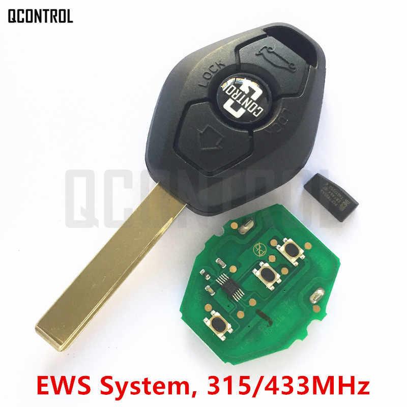 """QCONTROL автомобиль дистанционного ключа """"сделай сам"""" для BMW EWS X3 X5 Z3 Z4 1/3/5/7 серии Автозапуск передатчик"""