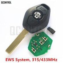 QCONTROL רכב מרחוק מפתח DIY עבור BMW EWS X3 X5 Z3 Z4 1/3/5/7 סדרה keyless כניסת משדר