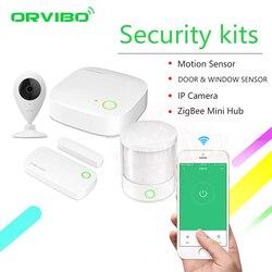2019 Orvibo ZigBee Smart Home Security Kit pro Controller Hub Smart Remote Control,Zigbee Motion Sensor Door & Window Sensor