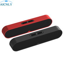 2018 Rushed Metallic Audio system Soundbar Music 2 Altavoz Bluetooth Speaker Actual Bass 24-hour Playtime 66ft Vary For Xiaomi Iphone