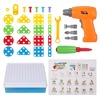 STEM-Learning-Toys-Drill-Play-Creative-Educational-Games-Mosaic-Design-Kit-Construction-Engineering-Building-Blocks-Pretend