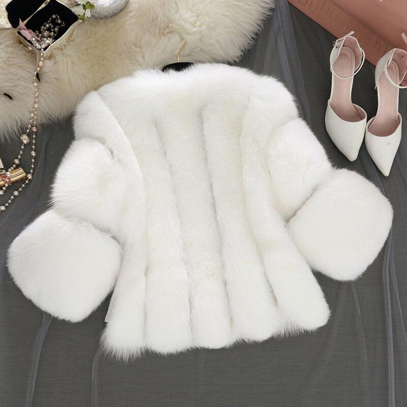 Femme Noir De Fourrure Gris Hiver black Artificielle Fausse Gilet fox Furry Pc237 Mode pink En White Manteau Rose Nouveau Courte khaki Color 2017 Veste Renard gray Faux Manteaux W2Ybe9DIEH