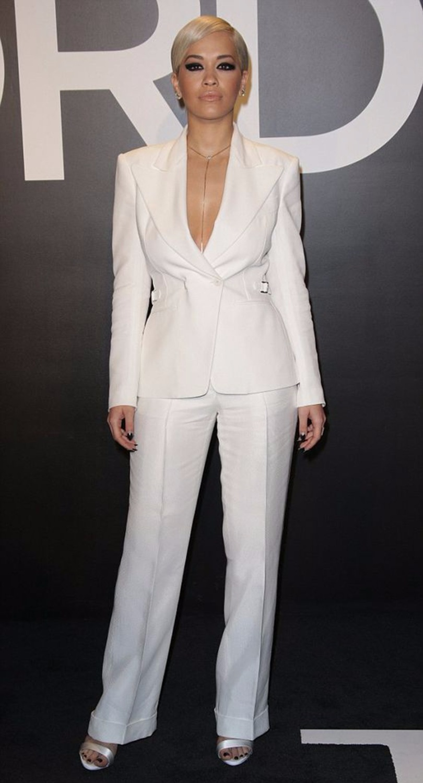 New Fashion White Jacket & Pants Women Business Formal Trousers Suit Ladies Peak Lapel Blazer Casual Set Office Work Wear W171
