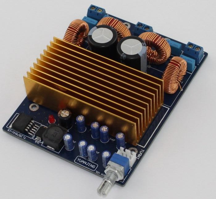 Frss Shipping TAS5611 Digital Amplifier Board 125W+125W Large Power Board TAS5611 OPA1632DR Class D power amplifier board