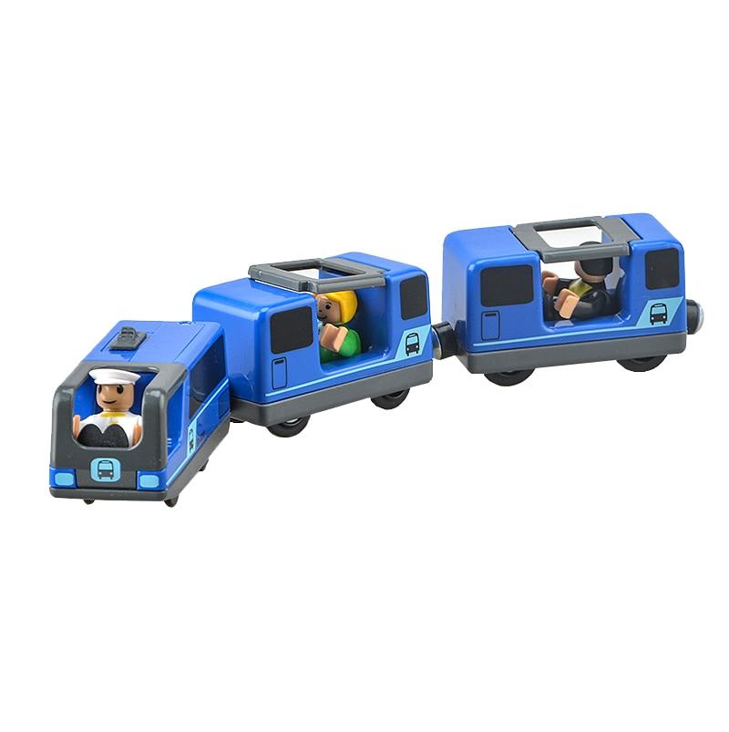 Lodrat e trenave elektrik për fëmijë vendosin lodrën e foleve të - Makina lodër për fëmije - Foto 3