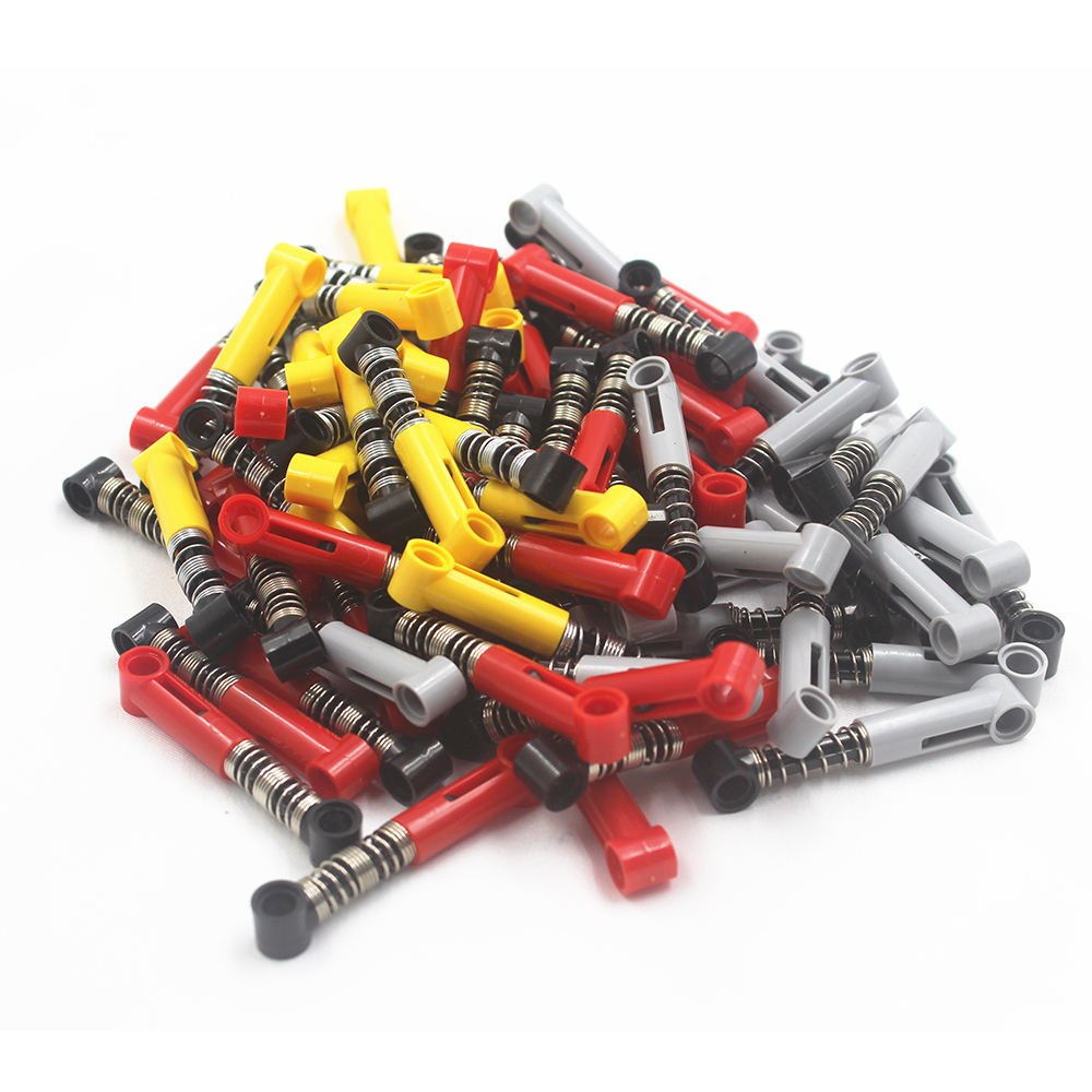 Technic Building Blocks Self-Locking Bricks Shock Absorber 6.5L (soft Spring) Compatible With Lego NOC6027566-Y