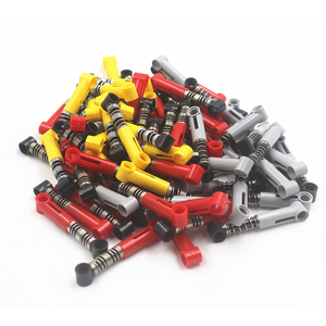 Technic Building Blocks Self-Locking Bricks Shock Absorber 6.5L (soft Spring) compatible with Lego NOC6027566-Y(China)
