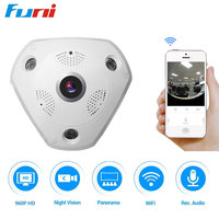 V380 Home Camera 960P HD Mini IP Camera WiFi Smart Wireless Infrared Wide Angle 2 Way