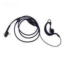 Earphone Earpiece PTT Headset Mic for Motorola Tetra Two Way Radio MTH800 MTP850 MTH600 MTH650 MTH850 MTS850 Walkie Talkie