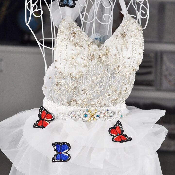 Popular Handmade Rhinestone Patch For Wedding Dress WPH 1727