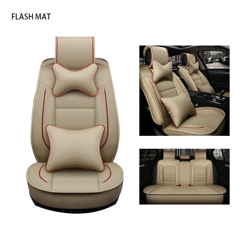 Universal car seat covers for audi a3 8p a1 a3 a4 a4l a5 a6 a6l a7
