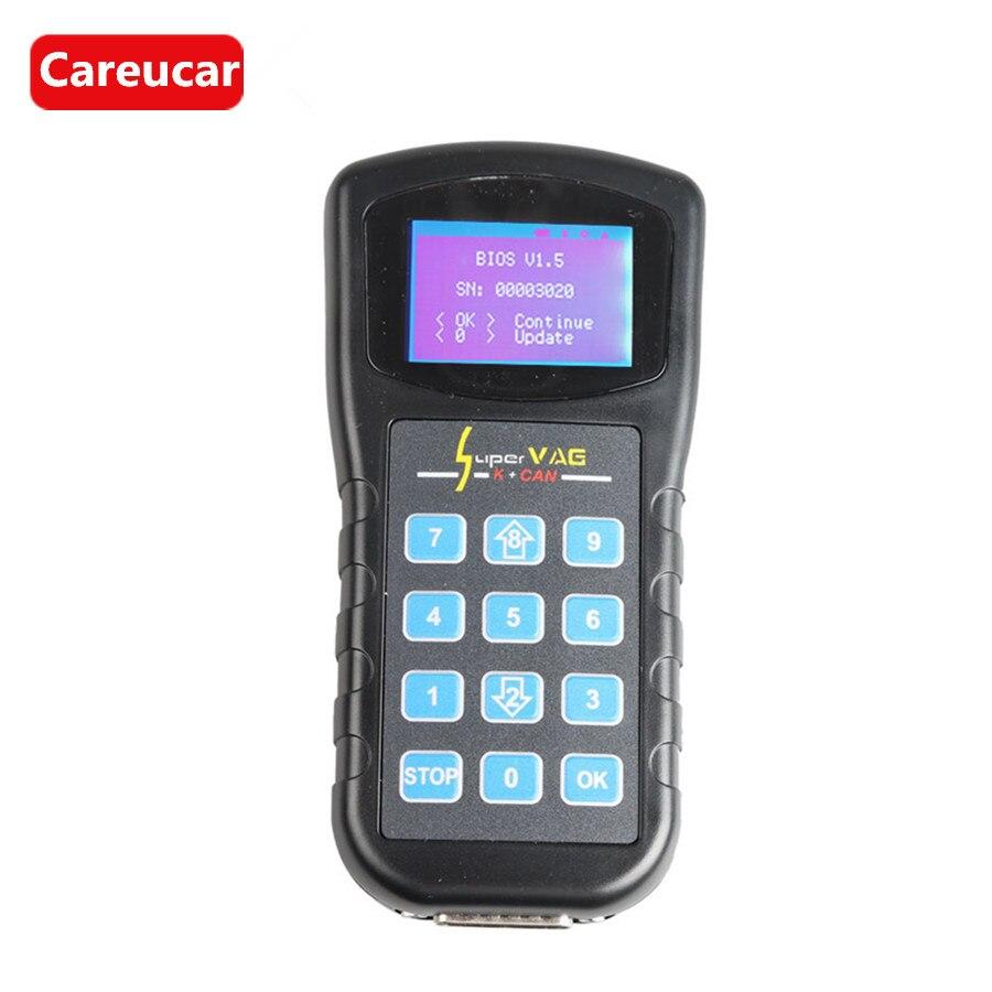 Цена за VAG Диагностический Инструмент Супер VAG K + может V4.6 OBD2 Авто сканер Диагностический CAN BUS Сан инструмент