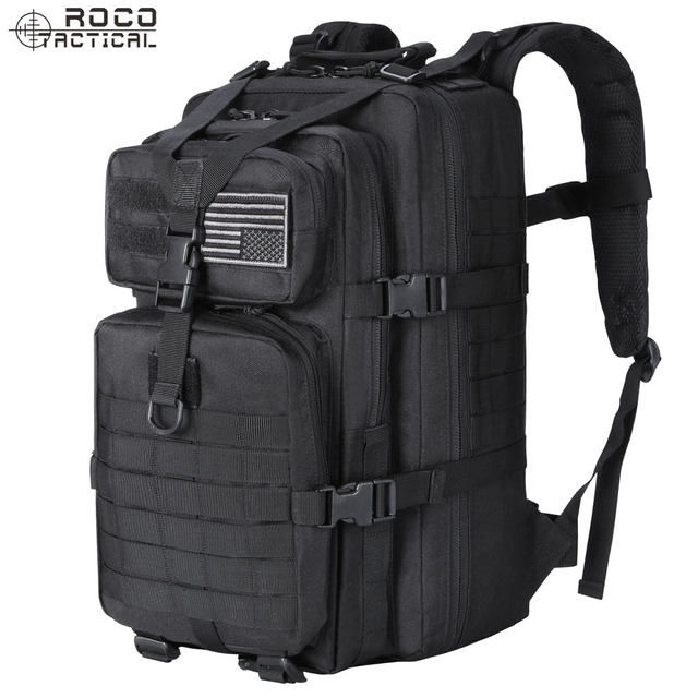 ROCOTACTICAL US Military Tactical Backpack Small Assault Pack Army Molle  Bug Out Bag Backpacks d7c35cf37a4a0