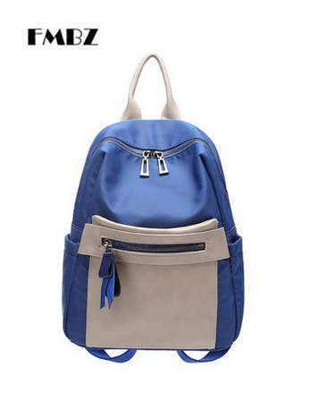2018 new Student backpack woman backpack FMBZ Oxford cloth ladies backpack fashion simple women bag free shipping цена 2017