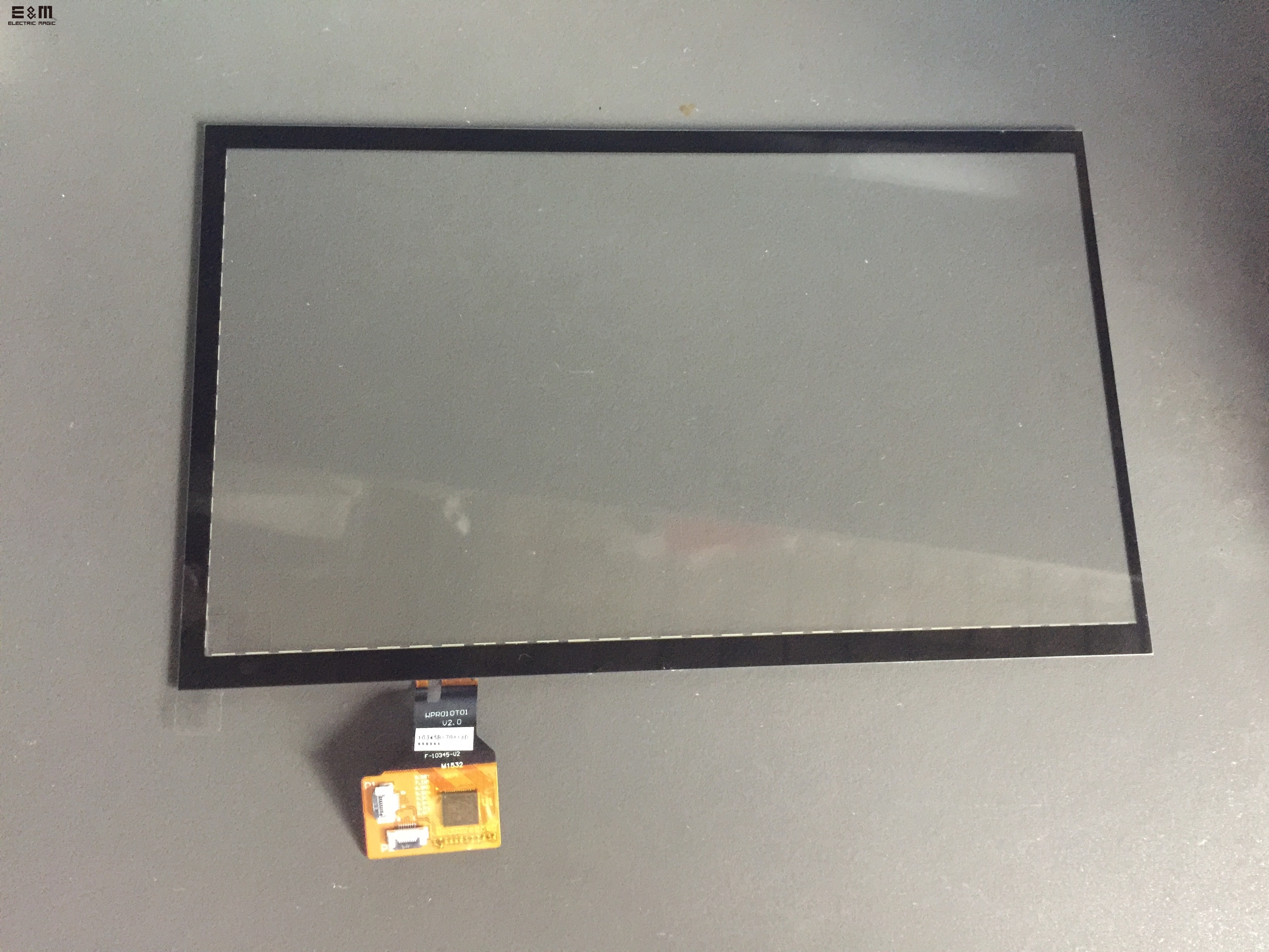 10.1 Inch IIC Communication Touch Panel For 1024*600 LCD 16 : 9 Multi Touch 6H DIY Touch Screen
