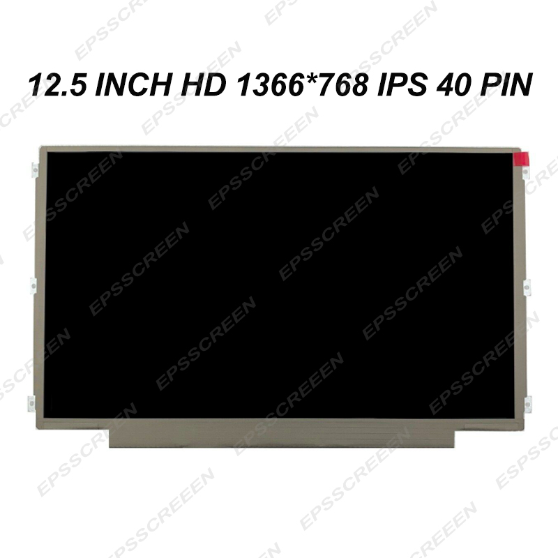 NEW 12.5'' Laptop <font><b>lcd</b></font> screen IPS Display FIT for <font><b>LENOVO</b></font> S230U K27 K29 <font><b>X220</b></font> X230 matte HD 40 PIN MATRIX image