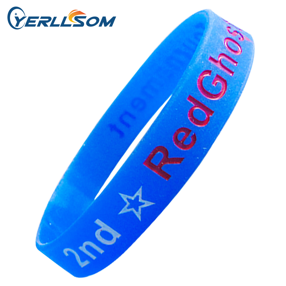 Lot High Quality Custom Personalized Rubber Bands For Promotional  Gifts Y060314