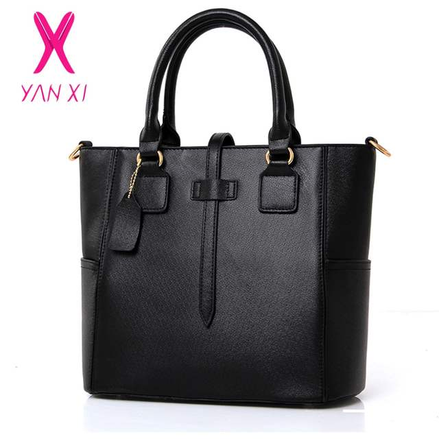 placeholder YANXI Shop Online Fashion Lady Tote Shoulder Day Clutches  Designer Black Purse And Handbags Leather Women 4fd046a43d8f2