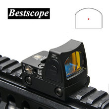 Trijicon Mini RMR Red Dot Sight Collimator Glock / Rifle Reflex Sight Scope fit 20mm Weaver Rail For Airsoft / Hunting Rifle(China)