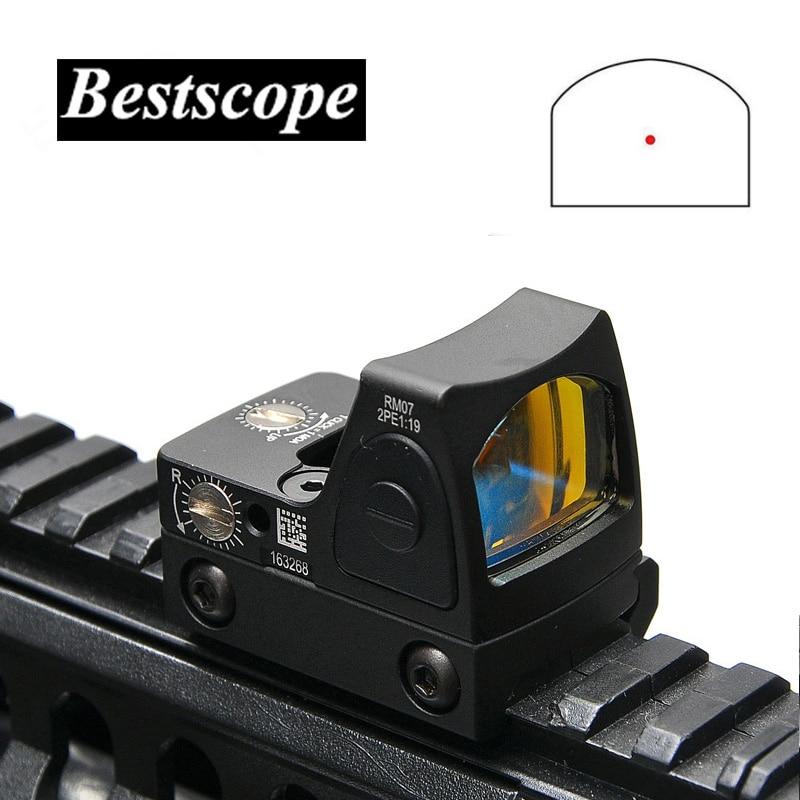 Trijicon Mini RMR viseur point rouge Collimateur Glock/Rifle viseur réflexe Portée ajustement 20mm Weaver Rail Pour Airsoft/Fusil de Chasse