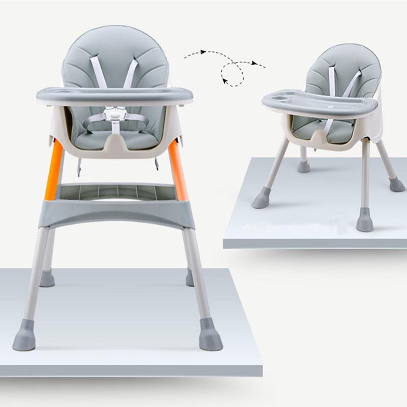 Nouveau-né bébé manger chaise Portable siège infantile réglable pliant bébé dinant la chaise chaise haute bébé alimentant des chaises aucune odeur