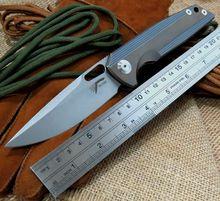 Rike original RK1502 folding knife S35vn blade Titanium handle camping hunting outdoors pocket survival knives Utility EDC tools