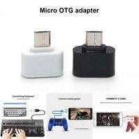 100 шт. Etmakit Mini Micro USB мужчина к USB Женский OTG адаптер конвертер для huawei Xiaomi Android смартфон планшеты разные цвета