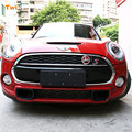 Classic Wreath Metal Front Grill Badge Sticker For BMW MINI Cooper S R50 R53 R56 R60 F55 F56 Clubman Countryman Roadster Paceman