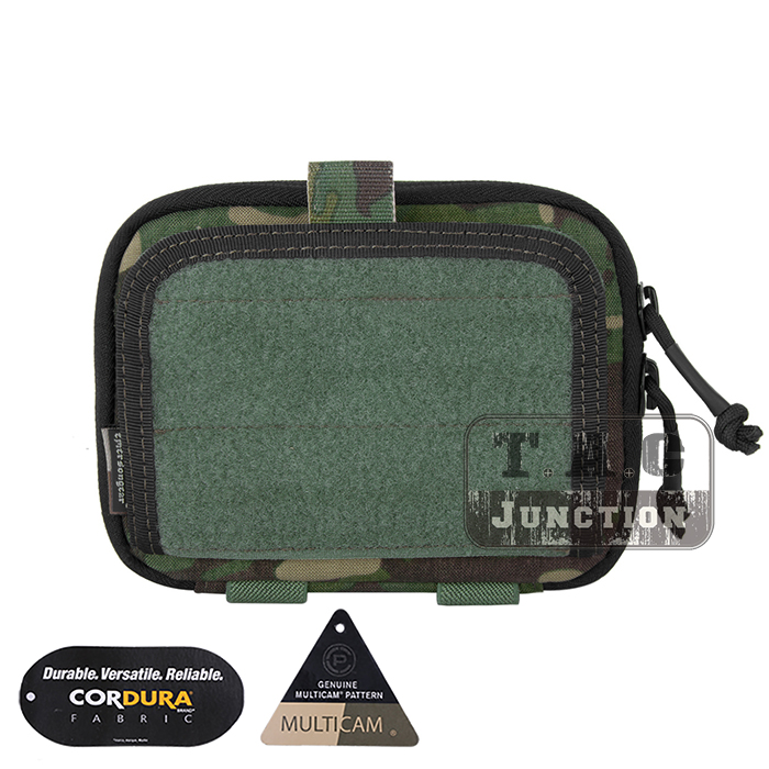 Emerson Tactical MOLLE Combat Multi-purpose Admin Pouch EmersonGear Military Gear Map Multifunction Bag Hunting Pouch Multicam