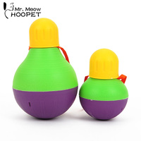 Hoopet Dog Toy Feeding Ball Leakage Food Can Carry Dog Food Snacks Pet Toy Interactive Training ball