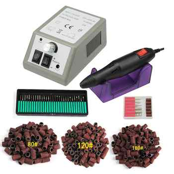 Professional Electric Manicure Set Professional Drill Accessory Nail File Bit Manicure Machine Electric Nail File Ceramic Nail