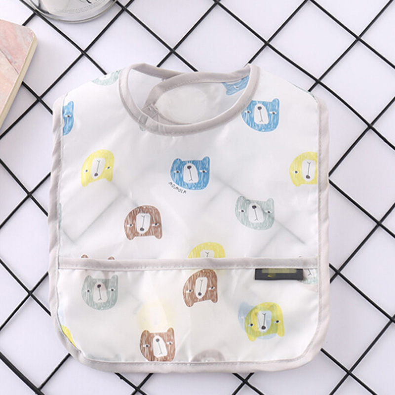 1 Pc Nieuwe Baby Slabbetjes Waterdichte Lunch Feeding Slabbetjes Baby Cartoon Voeden Doek Kinderen Baby Schort Baby Bib Om Het Lichaamsgewicht Te Verminderen En Het Leven Te Verlengen