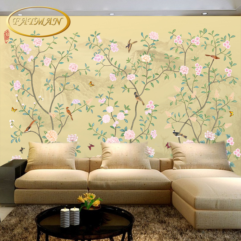 online buy wholesale chinese bird wallpaper murals from china