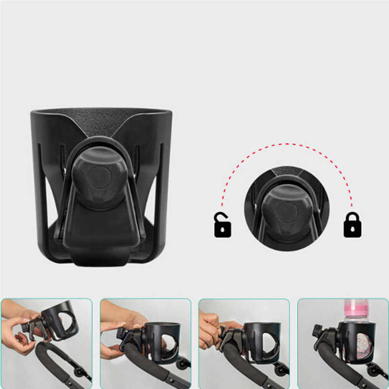 Baby Stroller Accessories Cup Holder Cart Bottle Rack Milk Water Pushchair Carriage Buggy Bicycle Universal Bottle Bags For Baby
