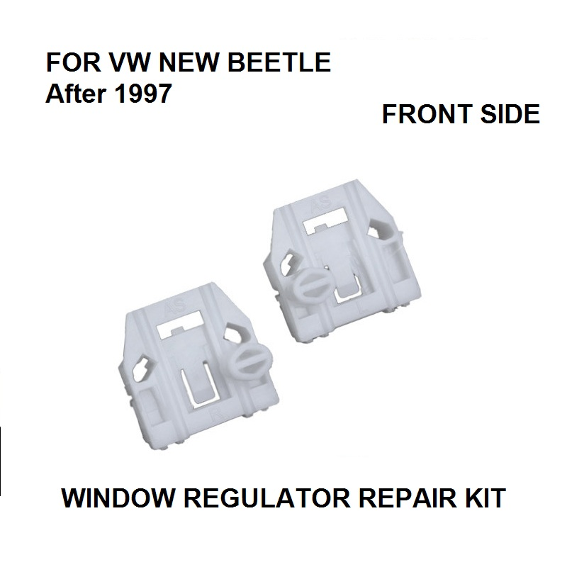 ELECTRIC WINDOW LIFTER REPAIR CLIPS SET VW NEW BEETLE FRONT RIGHT OSF MADE IN EU