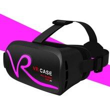 Vr случае A1 гарнитуры-дисплей устройства 3D очки смартфон Универсальный Виртуальная реальность сенсорная панель управления телефон и объем HD Настоящее VR