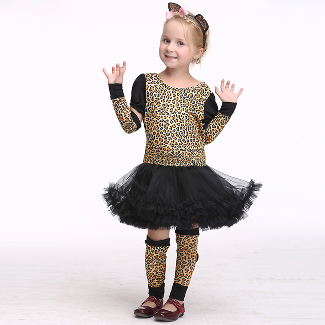 d2085237f829 Lovely Vitality Version Baby Girl Cosplay Clothes Naughty Pretty Leopard  Girl Childrenu0027s Day Halloween Carnival Party Sc 1 St AliExpress.com