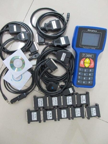 Professional Auto Key Programmer T300 Newest V16.8 T 300 T-CODE Blue Cars T-300 Auto Transponder key programmer
