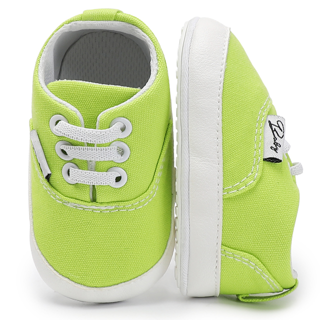 4a58b62e62c20 Baby boy girls first walker crib infant cool casual shoes Adorable Anti-slip  Prewalker Toddler Sneaker canvas for kids wholesale