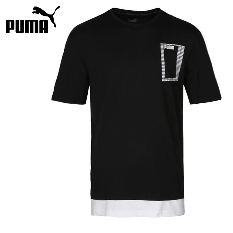 Original New Arrival 2018 Puma Summer Rebel Logo Tee Men's T-shirts short sleeve Sportswear