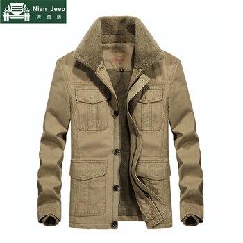 Brand Thicken Fleece Winter Jackets Men High Quality Jaqueta masculina Outwear Warm Jackets & Coats Size M-4XL Men bomber jacket