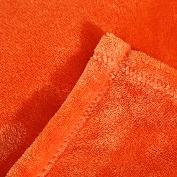 Para on para o sofá cama orange amarelo bonito cobertores minha vizinho colcha de ouro quarto quarto COBERTOR super macio em um saco