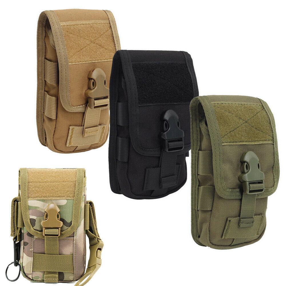 Universal Casual Outdoor Tactical Waist Bag Camouflage Fashion Mobile Phone Bag Mini Fanny Pack
